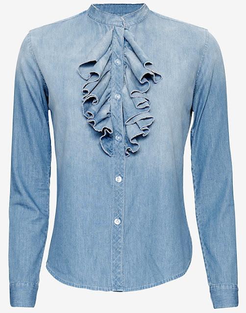 Denim Spring 2016 NSF Ruffled Shirt