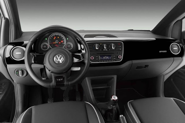 Volkswagen Speed Up! TSI Turbo - painel