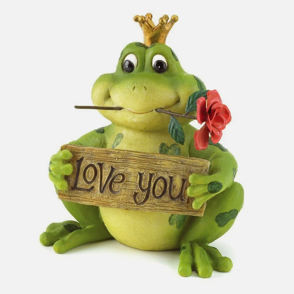 Gifts & Decor Love You Frog Prince Valentine's Day Gift Décor Figurine