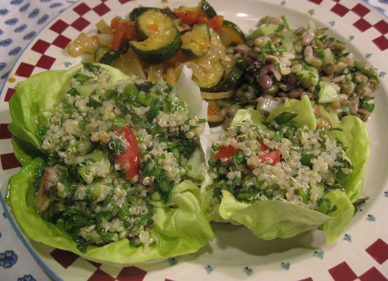 how to eat tabouli salad