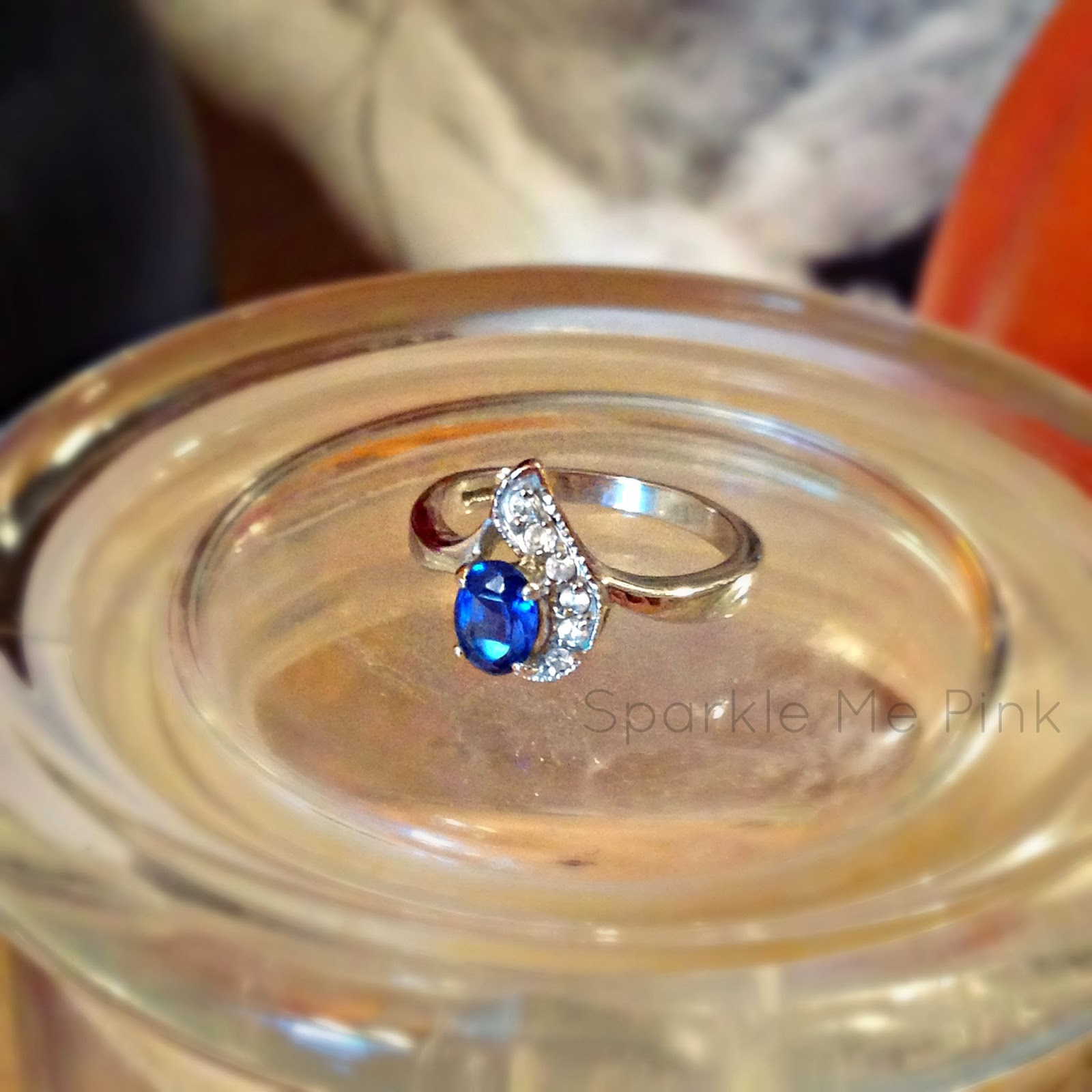 Sparkle me pink diamond candle ring reveal