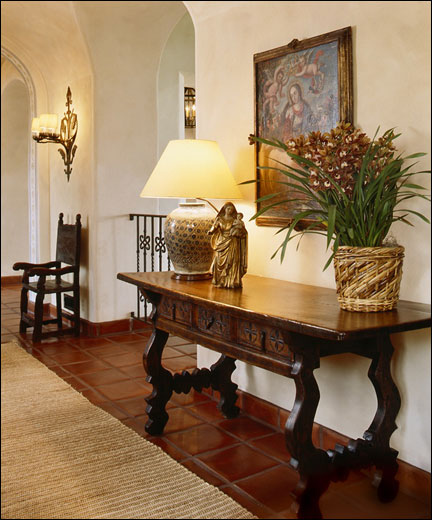 Decorlah spanish colonial style home decor spanish colonial ranch caramel california - Spanish home interior design ideas ...