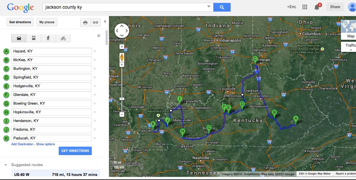 https://maps.google.com/maps?saddr=Hazard,+KY&daddr=McKee,+KY+to:Burlington,+KY+to:38.1662643,-85.2141947+to:Springfield,+KY+to:Hodgenville,+KY+to:Glendale,+KY+to:Bowling+Green,+KY+to:Hopkinsville,+KY+to:Henderson,+KY+to:37.6900401,-87.9266901+to:Fredonia,+KY+to:37.3982453,-88.3732719+to:Paducah,+KY&hl=en&sll=38.099983,-85.385742&sspn=4.80637,9.744873&geocode=FQRiOAIddJIK-yknu-1bjMhEiDEjFmRhnc9eSA%3BFVwkOwId4Ur--iklrHjf2RdDiDEZHU1KdAak1g%3BFWiDUwIdbzbz-im3sGlBUcVBiDF6Gd0kfuAKQA%3BFfheRgIdDrzr-il3Mmv1DcFpiDHAJqNlxGpgXg%3BFV0IPwId2pzr-inxSGcVtzloiDFo3iThe5B8dQ%3BFT5VPQIdR7bj-il90yrEz_JoiDEpgj-odm2GkQ%3BFcDBPQIdkS_h-ik9xE0l8upoiDGizSyKBLw7kQ%3BFUoYNAIdXGjY-inT5PrpvOhliDFPLHkgkKwKpw%3BFUGGMgIdlQfJ-ilHEQ69KTRliDGA8B_KNL5zWA%3BFXpVQQIdg3vH-ilp08TRJyhwiDHjLDU873apmg%3BFbgaPwIdXljC-il7bGiAW0FwiDGI18Q9HN1jYw%3BFSvANwIdkFzA-inzCVJOmoN6iDH90I7TX7KVTQ%3BFeWmOgId6Ye7-imX48-do5twiDHRVQbwmyFzuw%3BFf3YNQIdEBK4-inDhS_RYBB6iDEluQyFUEzCHQ&oq=burlington+ky&t=h&mra=dpe&mrsp=10&sz=7&via=3,10,12&z=7