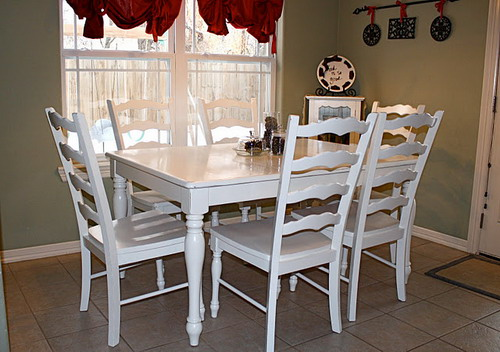 Useful Ideas Painting Kitchen Tables To Give Your Kitchen Different Looks Home Design Ideas