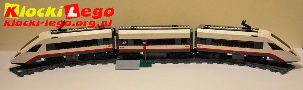 Klocki Lego 60051 Superszybki Pociąg Pasażerski