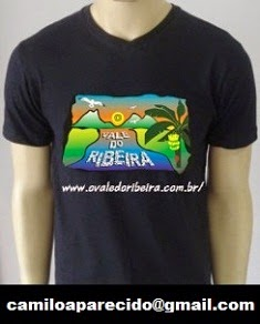 Camiseta do Site O Vale do Ribeira