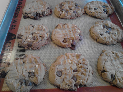 Peanut Butter Chocolate Chip Cookies High Altitude