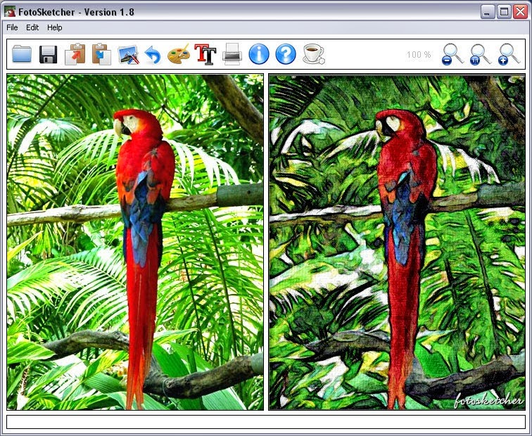 download free graphic software fotosketcher 296