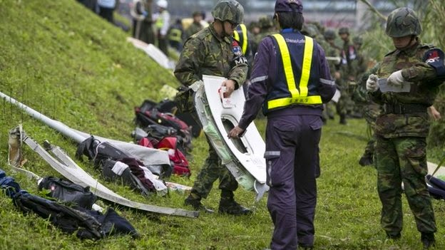 Taiwan TransAsia plane crash