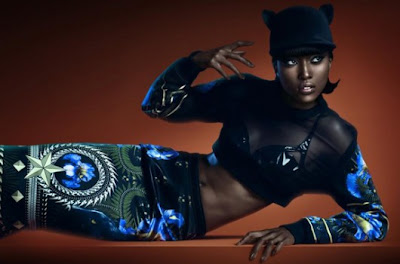 Hot Shoot | Nyasha Matonhodze par Rene Habermacher pour Numéro #128