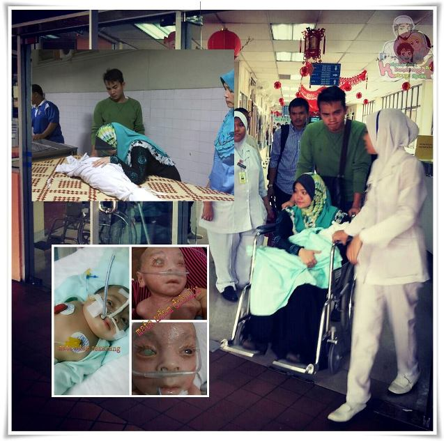 gambar adik ahmad adam syukri meninggal dunia
