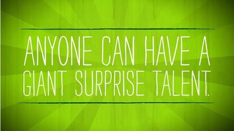 surprise talent