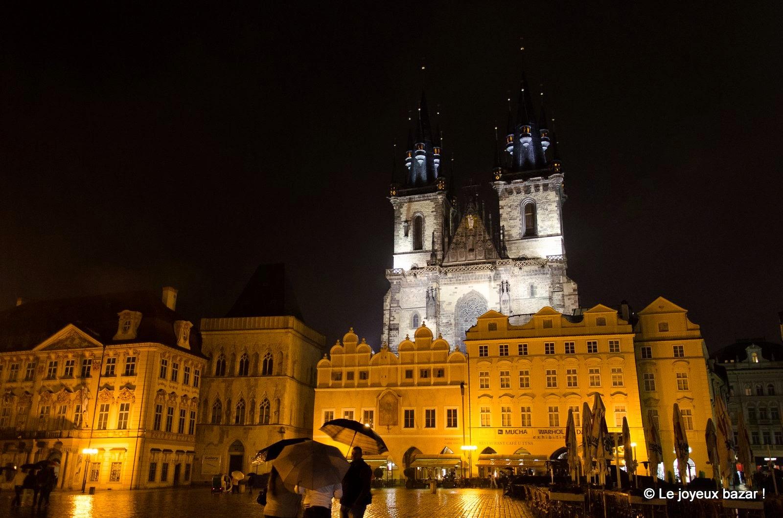 2 jours a Prague-by night - sous la pluie