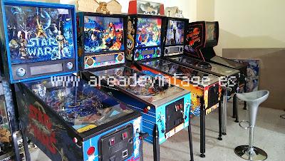 www.arcadevintage.es, pinball, pinballs, petacos, flipper