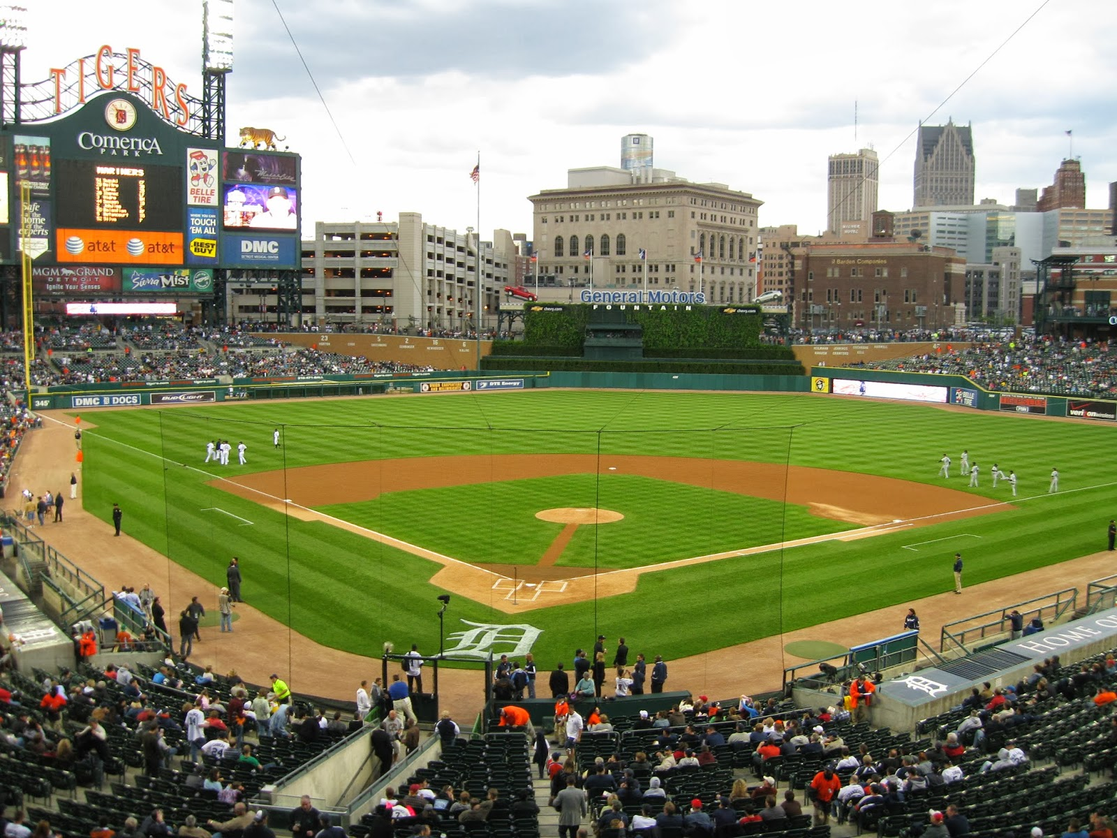 Comerica Park Luxury Suites | Luxury Suite Rentals