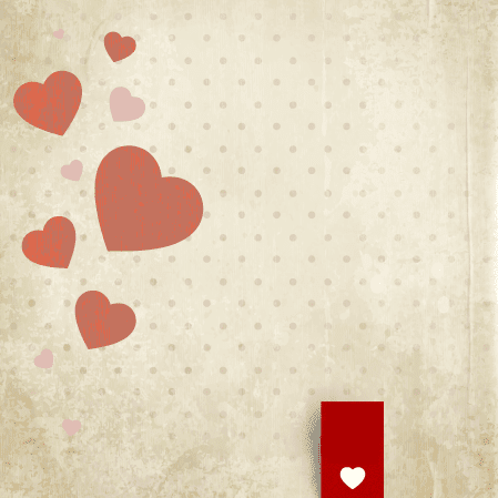 Corazones de San Valentin para imprimir