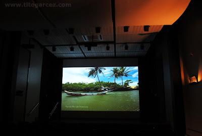 Auditório do Museu da Gente Sergipana, em Aracaju - Sergipe