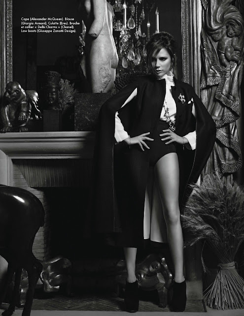 Victoria Beckham on Elle France