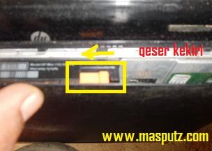 pengunci casing laptop