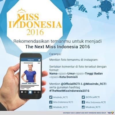 Audisi Miss Indoensia 2016