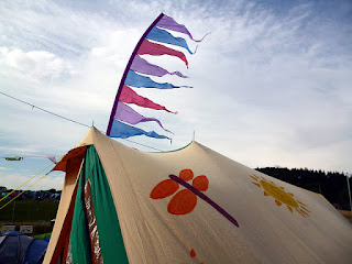 painted tent