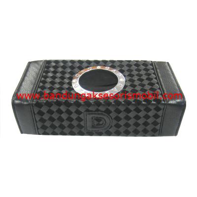 Box Tissue Prada Berlian Black