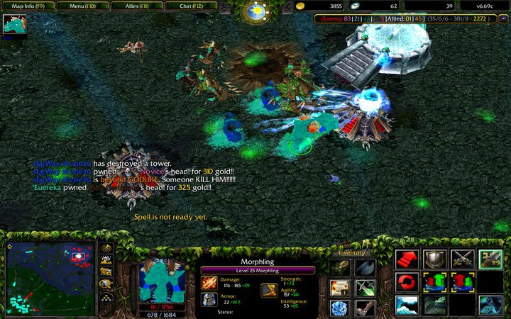 luck is no excuse what is dota for me