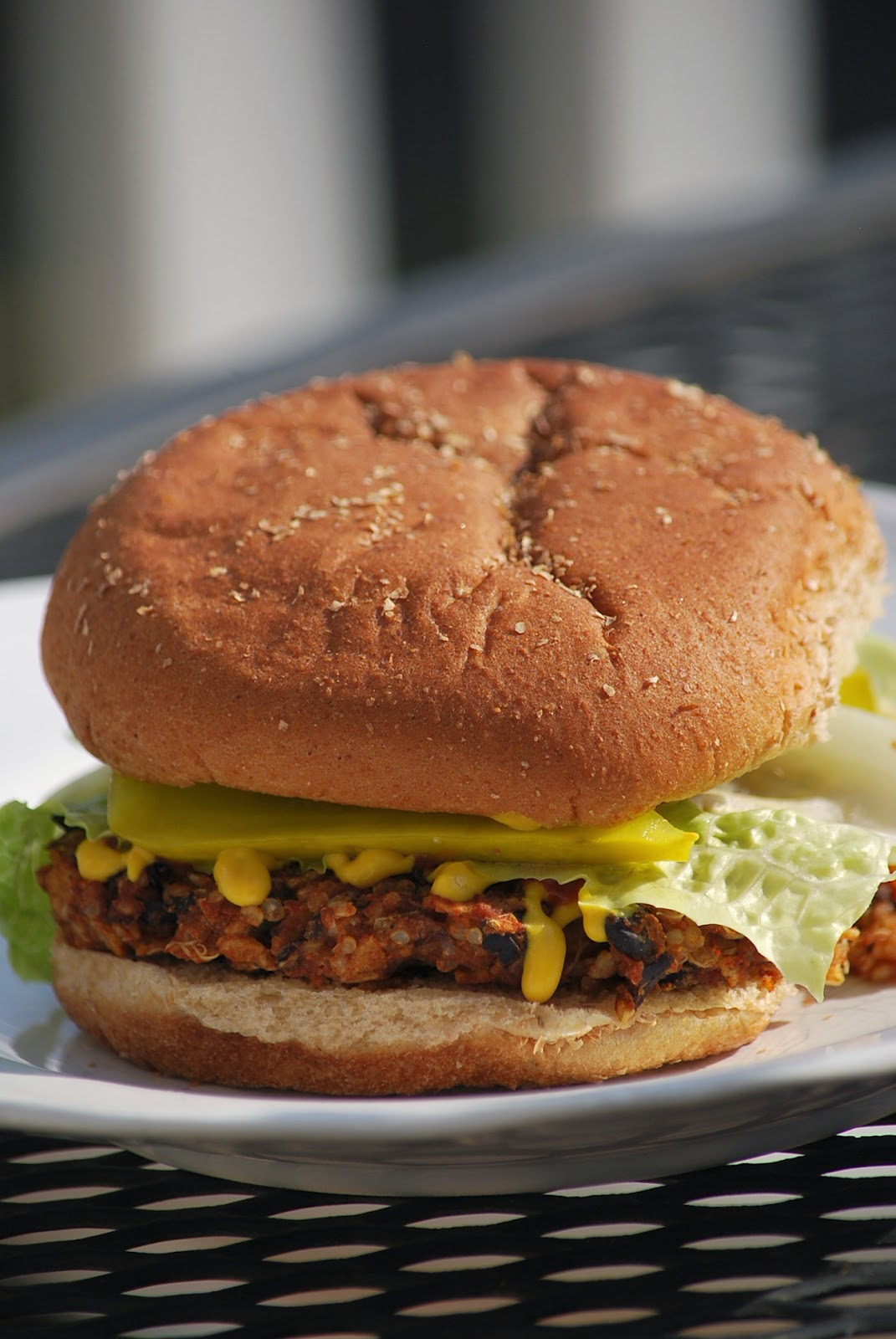 My story in recipes: Black Bean Burgers