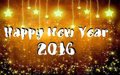 New Year 2016 HD Wallpaper