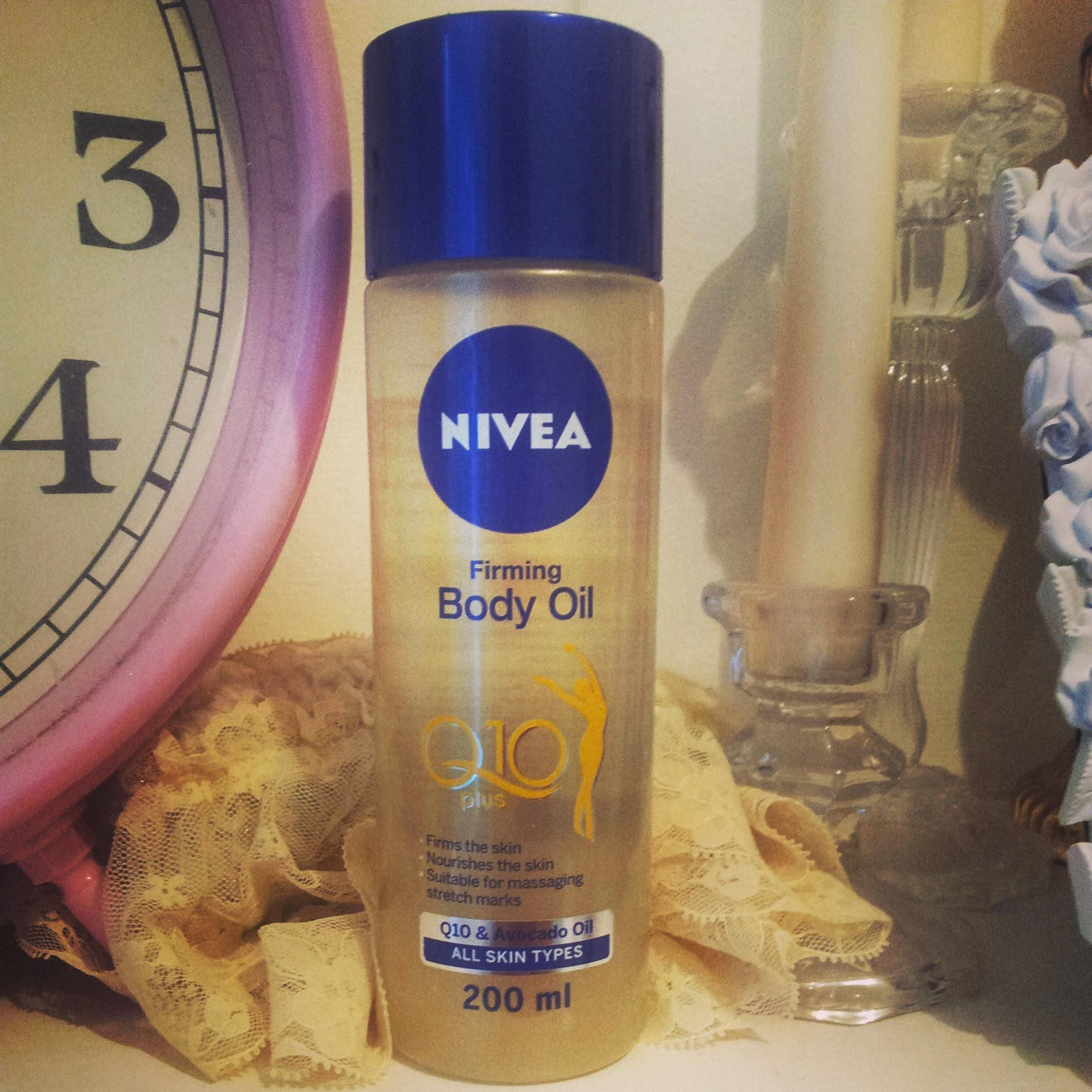 nivea body oil review