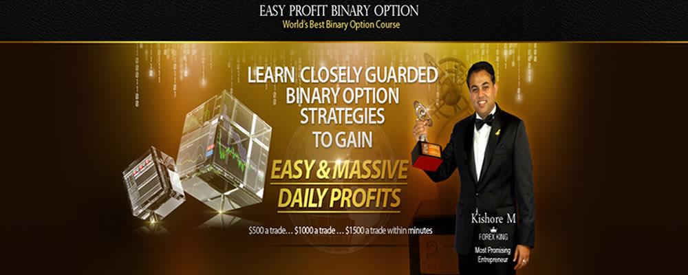easy profit binary options strategy