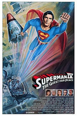 Superman IV poster Quest for Peace movie