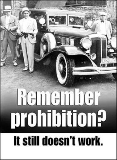 remember prohibition it still doesnt work