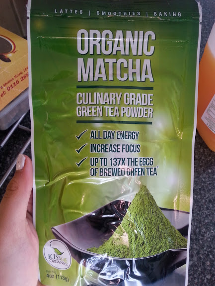 Matcha Green Tea Smoothie!