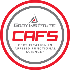 GRAY INSTITUTE CERTIFIED IN APPLIED FUNCTIONAL SCIENCE