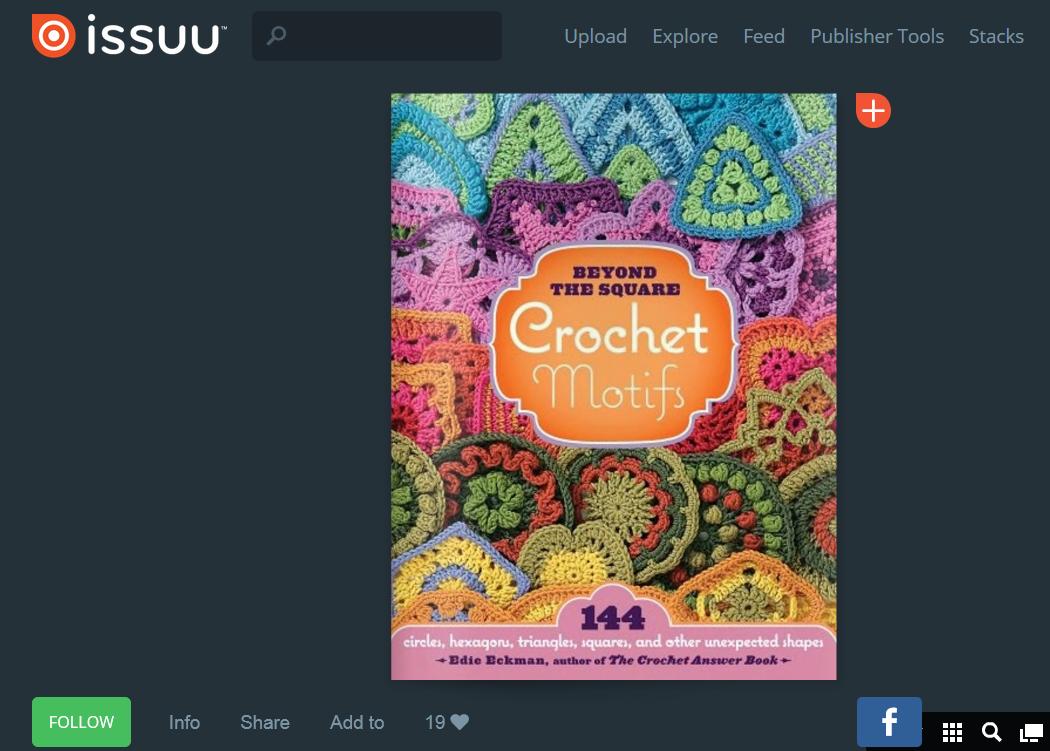 http://issuu.com/ramonaleeuw/docs/144_crochet_motifs