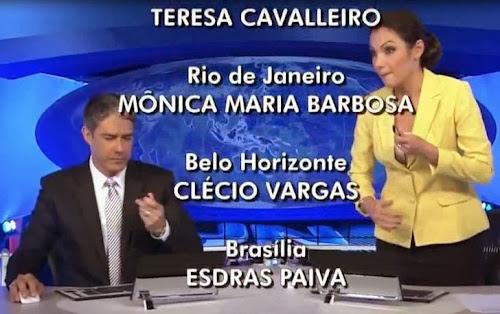 Relembre a gafe que tirou a Patricia Poeta do Jornal Nacional