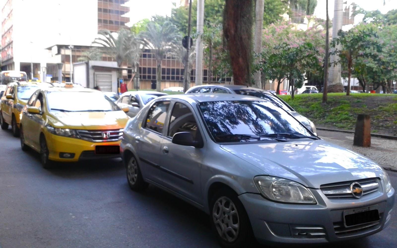 Trânsito no Botafogo Rio de Janeiro