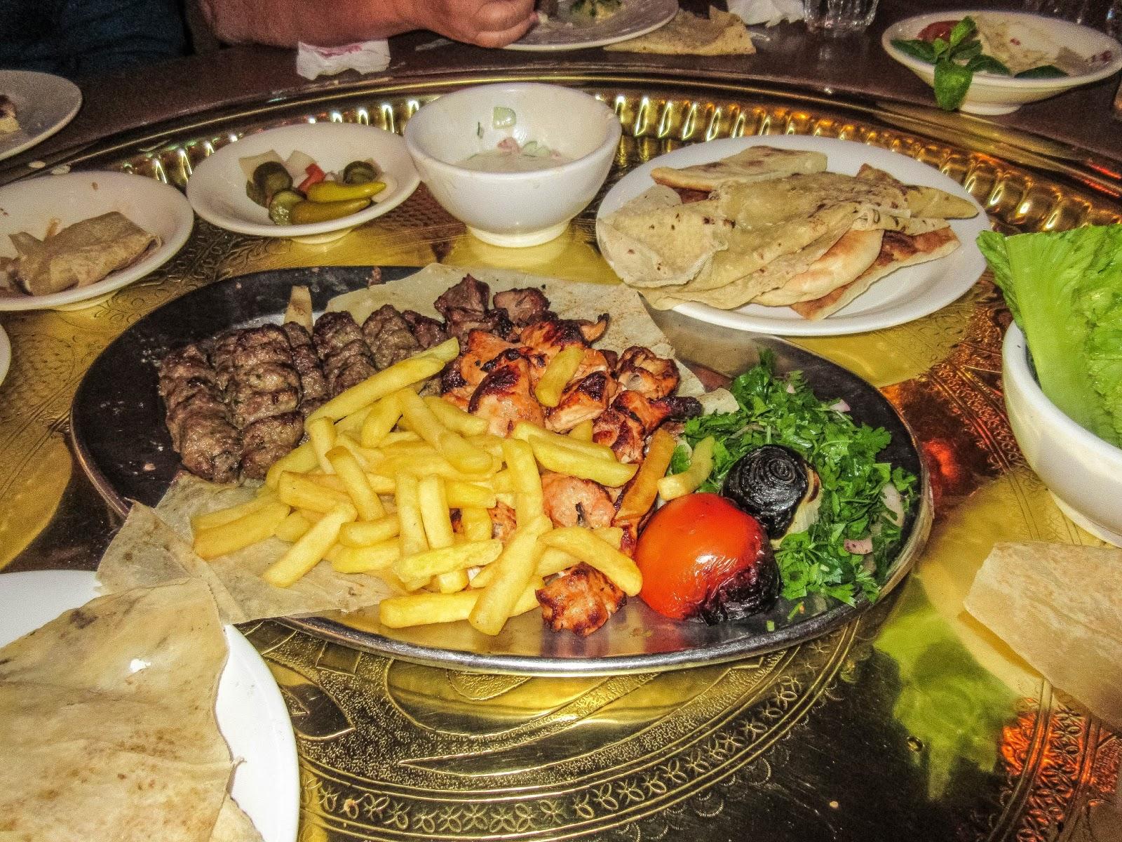 Cannundrums reem al bawadi restaurant amman jordan for Al bawadi mediterranean cuisine