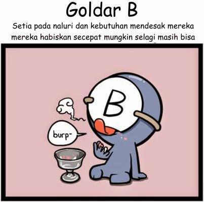 Komik Golongan Darah B