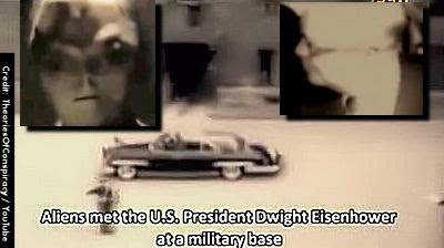 Aliens Met with Pres. Dwight D. Eisenhower; Agree To Trade Tech for Human Experimentation, Claim Russian Ufologists