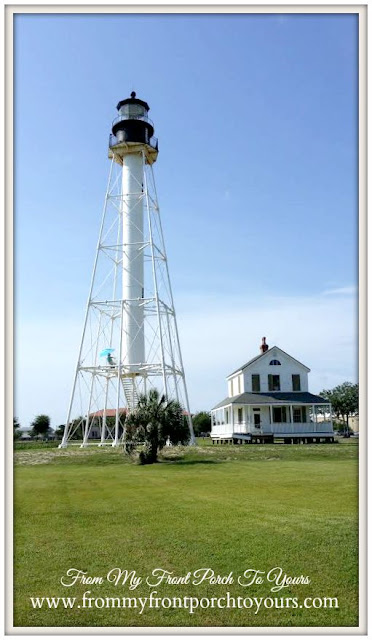 Lighthouse Restoration-Cape San Blas Lighthouse- Port St. Joe, Florida-From My Front Porch To Yours