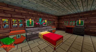 Adventure Time Craft Texture Pack habitación