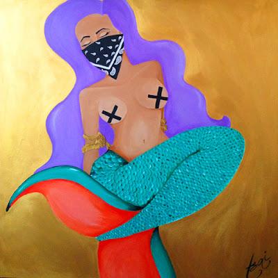 Sue Tsai mermaid art