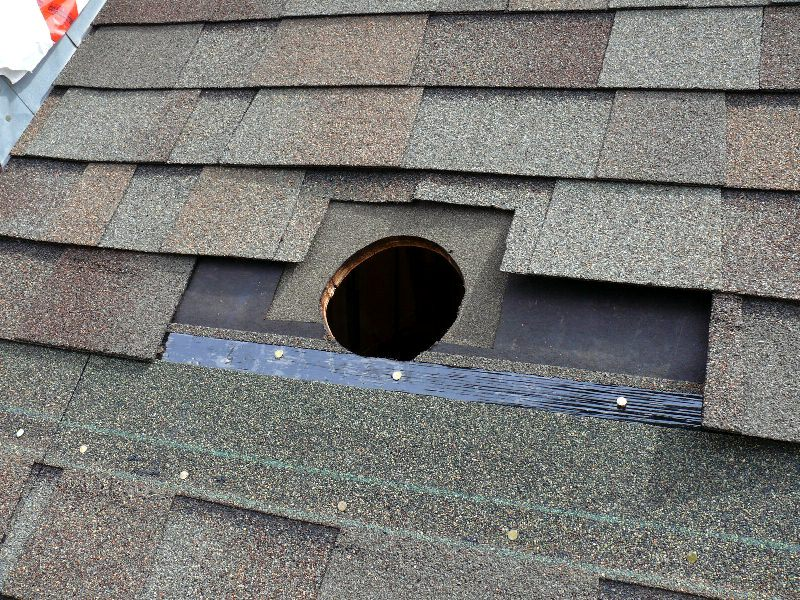 House Roof Ventilation : Building a house simple plan roof vent for bathroom fan