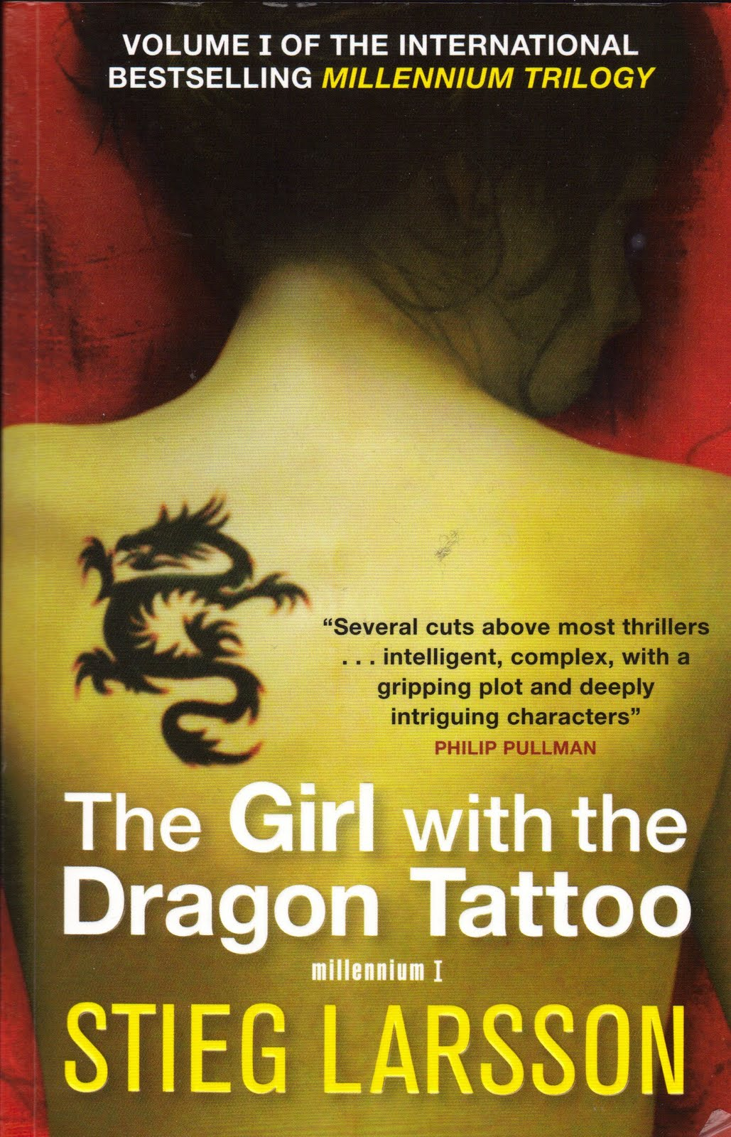 Jan 39 s book reviews 23 the girl with the dragon tattoo by for The girl with the dragon tattoo books