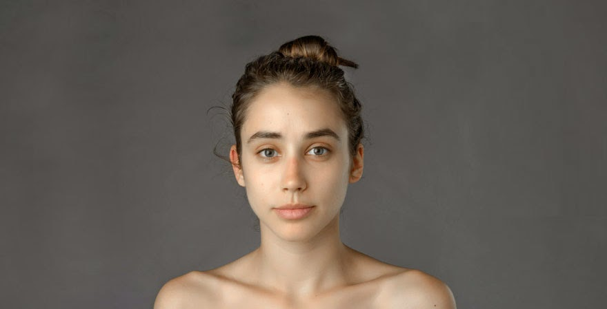 ORIGINAL PHOTO - Woman Had Her Face Photoshopped In More Than 25 Countries To Compare Their Beauty Standards