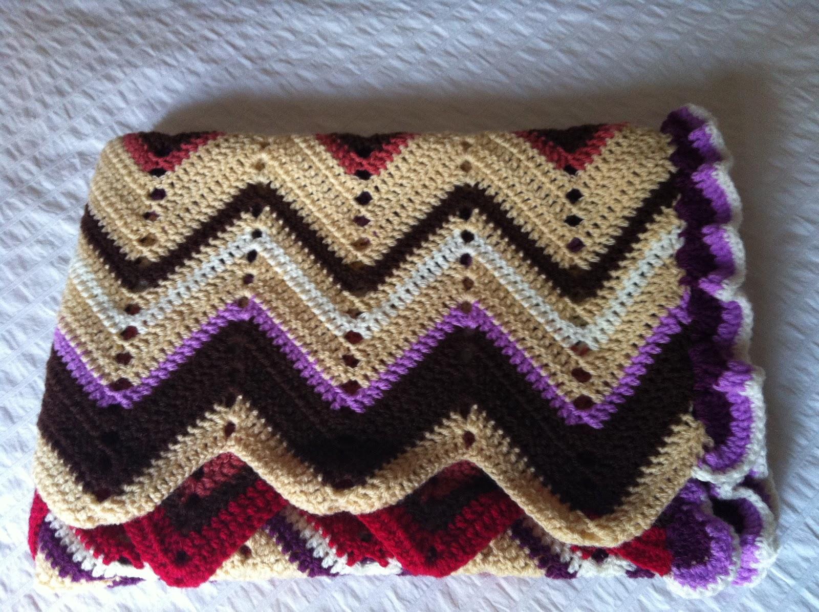 Manta de ganchillo 12 colores septiembre mantas de punto - Mantas ganchillo colores ...