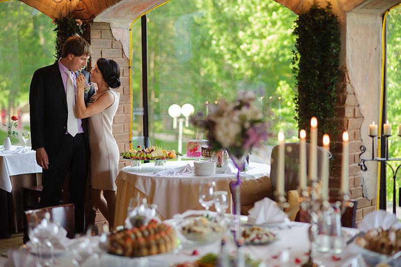 vestuvės romantic viešbutyje