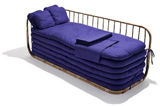Sofa convertible en Cama, Muebles de Bambu